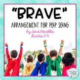 Pop Song BRAVE, Sara Bareilles - Rhythm Instrument Arrangement