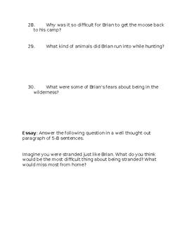 """""""Brian's Winter"""" Final Assessment"""