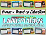 -Brown v. Board of Education- Landmark Supreme Court Case (PPT, handouts & more)