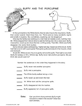 """""""Buffy and the Porcupine"""" and Two More Stories"""