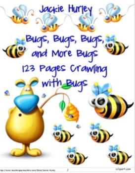 Bugs, Bugs, Bugs, & More Bugs - 123 Pages of Bugs!