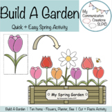 {Build-A-Garden} Themed Activity for Speech, Language and More!