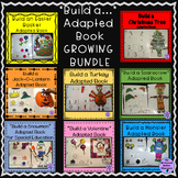 """Build a..."" Adapted Book Growing Bundle for Autism and Sp"