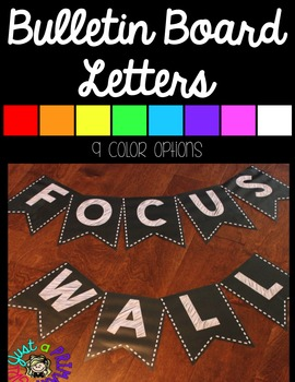 ~* Bulletin Board Letters Bundle