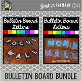 ~* Editable Bulletin Board Letters Bundle