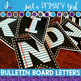 ~*Bulletin Board Letters Bunting - Paper