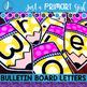 ~*Bulletin Board Letters: Yellow Pencil