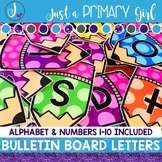 ~*Bulletin Board Letters: Rainbow Pencil Bundle