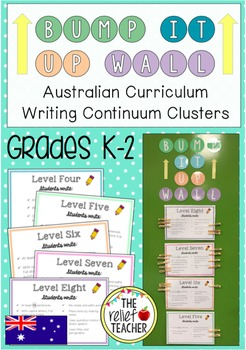 *Bump it Up Wall* Aligned with Australian Writing Continuum Clusters 1-9 (K-2)