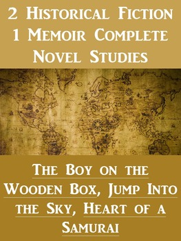 ** Bundle! ** 2 Historical Novel Studies and 1 Memoir Novel Study