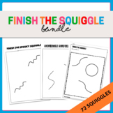 {Bundle} 62 Finish the Squiggles Activity Sheets