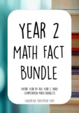 ACARA ***Bundle*** An Entire year of Year 2, Daily Computation Math Booklets.