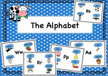 *Bundle* Dual Language English and Spanish Alphabets