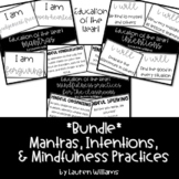 *Bundle* Mantras, Intentions, and Mindfulness Practices