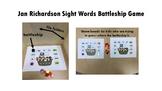 *Bundled* Jan Richardson Sight Words Battleship Game Levels A-F