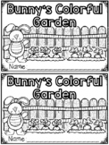 """Bunny's Colorful Garden"" (A Spring Emergent Reader Dollar Deal)"