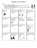 """Busca a un amigo"" 1st day of Spanish Class Speaking Activity!"