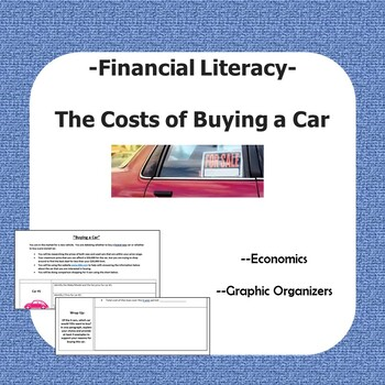 """Financial Literacy -- """"Buying a Car"""": Analyzing the Costs of Financing a Car"""