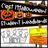 """C'est l'Halloween"" Headbands"