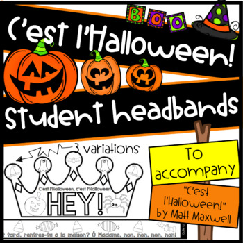 """C'est l'Halloween"" Headbands"