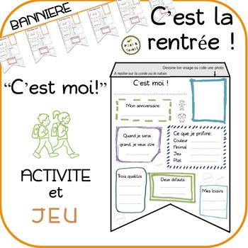 """""""C'est moi !"""" bannière + jeu"""