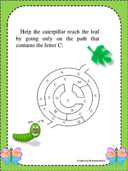,,C,, letter/Speech therapy/Phonological  awarness