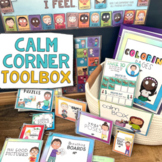 CALM DOWN CORNER: School & Home Behavior Management Coping Tool Mindfulness Kit