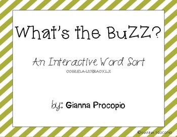 {CCSS.ELA-Literacy.L.2} What's the Buzz?  Identifying -ss and -zz ending sounds