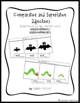{CCSS.ELA.L.1} {CCSS.ELA.RF.3} Comparative and Superlative Adjective Endings