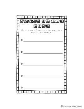 {CCSS.ELA-LITERACY.L.2} {CCSS.ELA-LITERACY.RF.3} Spelling List 7- INB Activities