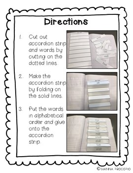 {CCSS.ELA-Literacy.CCRA.L.6} Alphabetical Order Interactive Foldable