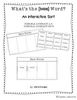 {CCSS.ELA-Literacy.L.4} {CCSS.ELA-Literacy.RF.4} What's the [base] Word?