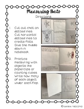 {CCSS.MATH.CONTENT.MD} BATS- Interactive Notebook Math Pack