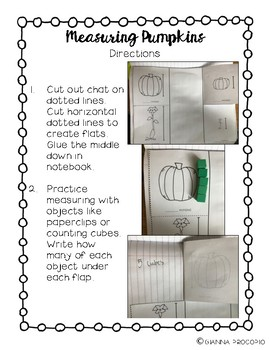 {CCSS.MATH.CONTENT.MD} PUMPKINS- Interactive Notebook Math Pack