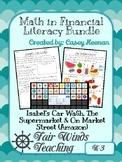Math in Financial Literacy Growing Bundle