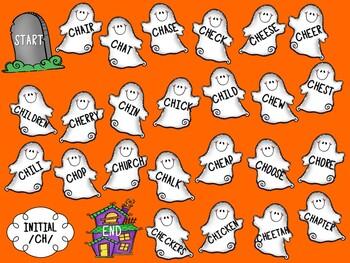 /CH/ Articulation Board Games - Halloween Theme