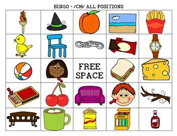 /CH/ Bingo Board