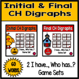 Initial and Final CH Digraphs Game Pack