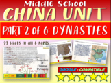 *** CHINA!!! (PART 2: DYNASTIES) Highly visual engaging, 93-slide PowerPoint