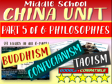 *** CHINA!!! (PART 5: PHILOSOPHIES) Highly visual engaging 93-slide PowerPoint