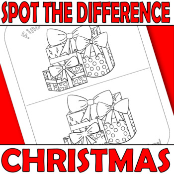 {CHRISTMAS COLOURING PAGES} {CHRISTMAS SPOT THE DIFFERENCE} {CHRISTMAS PUZZLES}
