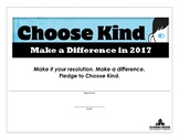 """CHoose Kind Certificate"" - 2017"