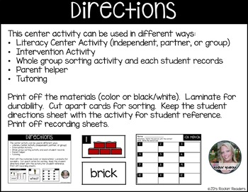 -CK Digraph Literacy Center Activity