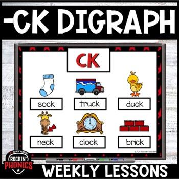 -CK Ending Digraph Rockin' Phonics