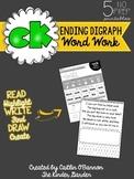 -CK Ending Digraph Word Work Printables