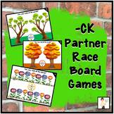 -CK Partner Race Board Games - Plant Theme
