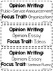 {COLORFUL BRIGHTS} Journeys 4th Grade Reading Focus Wall Set