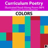 'COLORS' (Grades Pre-K - 2) ~ Illustrated Poem Video l Dig