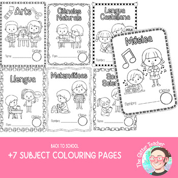 [COLOURING SHEET] Subject covers