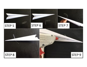 4 - Day Lesson Sequence: STEM Engineering Challenge - Paper Airplanes